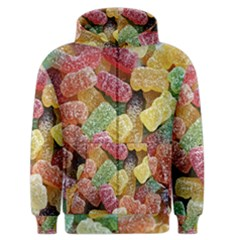 Jelly Beans Candy Sour Sweet Men s Zipper Hoodie