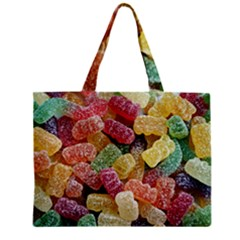 Jelly Beans Candy Sour Sweet Zipper Mini Tote Bag