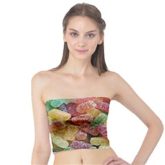 Jelly Beans Candy Sour Sweet Tube Top