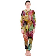 Jelly Beans Candy Sour Sweet Onepiece Jumpsuit (ladies)