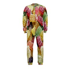 Jelly Beans Candy Sour Sweet Onepiece Jumpsuit (kids)