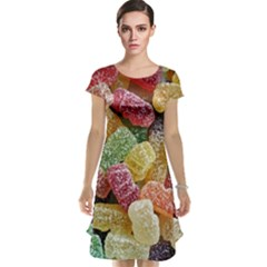Jelly Beans Candy Sour Sweet Cap Sleeve Nightdress