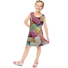 Jelly Beans Candy Sour Sweet Kids  Tunic Dress
