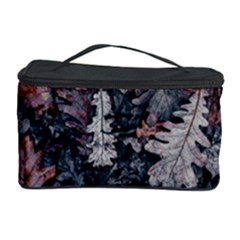 Leaf Leaves Autumn Fall Brown Cosmetic Storage Case