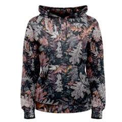 Leaf Leaves Autumn Fall Brown Women s Pullover Hoodie