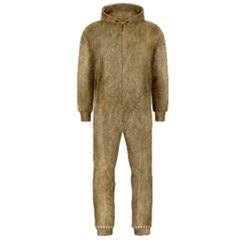 Abstract Forest Trees Age Aging Hooded Jumpsuit (Men)