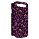 Abstract Background Floral Pattern Samsung Galaxy S III Hardshell Case (PC+Silicone) View2
