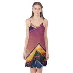 The Rainbow Bridge of a Thousand Fractal Colors Camis Nightgown