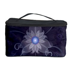 Amazing Fractal Triskelion Purple Passion Flower Cosmetic Storage Case