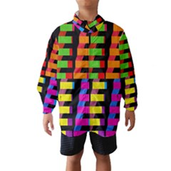 Colorful rectangles and squares                        Wind Breaker (Kids)