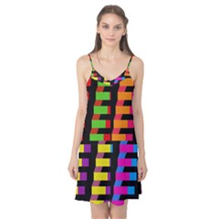 Colorful rectangles and squares                        Camis Nightgown