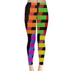 Colorful rectangles and squares                        Leggings