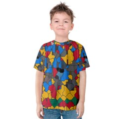 Stained glass                        Kid s Cotton Tee