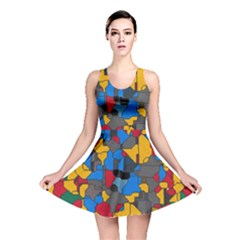 Stained glass                        Reversible Skater Dress