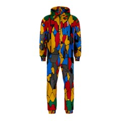 Stained glass                        Hooded Jumpsuit (Kids)