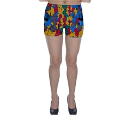 Stained glass                        Skinny Shorts