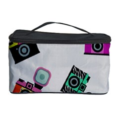 Old cameras pattern                        Cosmetic Storage Case