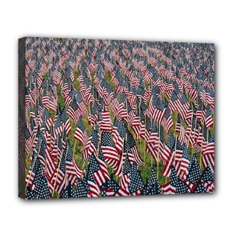 Repetition Retro Wallpaper Stripes Canvas 14  X 11
