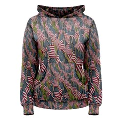Repetition Retro Wallpaper Stripes Women s Pullover Hoodie