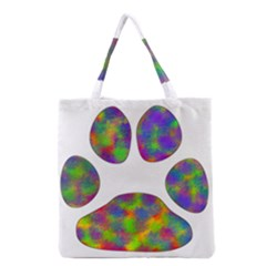 Paw Grocery Tote Bag