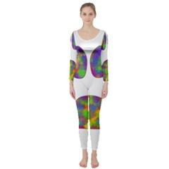 Paw Long Sleeve Catsuit
