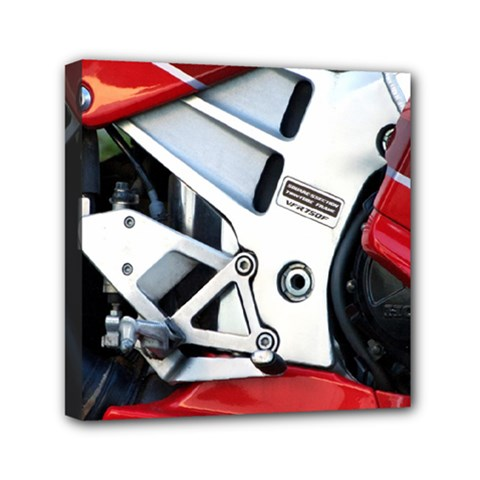 Footrests Motorcycle Page Mini Canvas 6  x 6