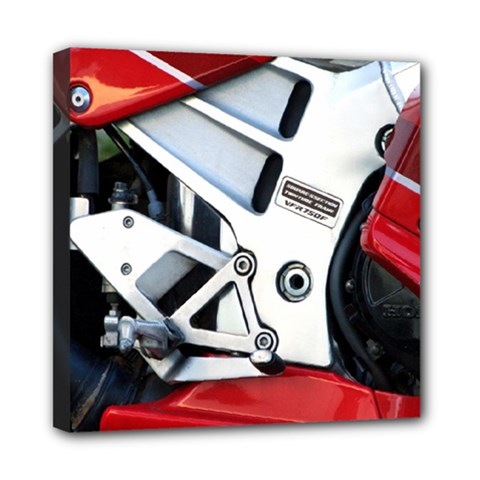 Footrests Motorcycle Page Mini Canvas 8  X 8