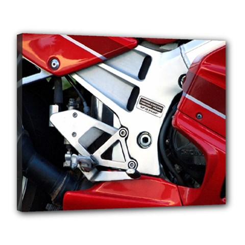 Footrests Motorcycle Page Canvas 20  x 16