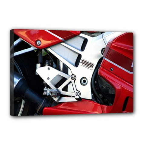 Footrests Motorcycle Page Canvas 18  X 12