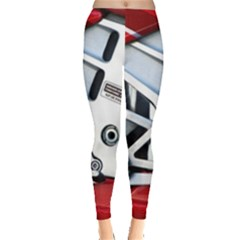 Footrests Motorcycle Page Leggings