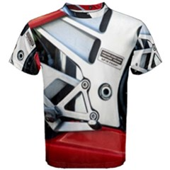 Footrests Motorcycle Page Men s Cotton Tee