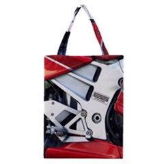 Footrests Motorcycle Page Classic Tote Bag