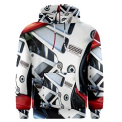 Footrests Motorcycle Page Men s Pullover Hoodie