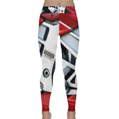 Footrests Motorcycle Page Classic Yoga Leggings