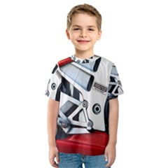 Footrests Motorcycle Page Kids  Sport Mesh Tee