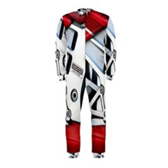 Footrests Motorcycle Page OnePiece Jumpsuit (Kids)