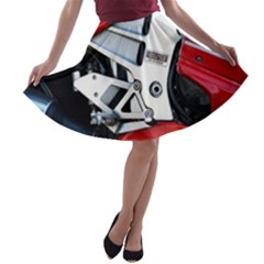 Footrests Motorcycle Page A Line Skater Skirt