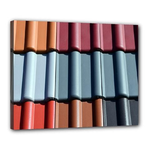 Shingle Roof Shingles Roofing Tile Canvas 20  X 16