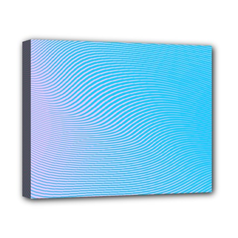 Background Graphics Lines Wave Canvas 10  x 8