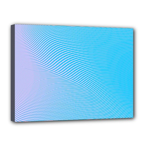 Background Graphics Lines Wave Canvas 16  X 12