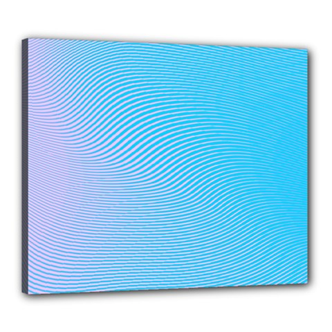 Background Graphics Lines Wave Canvas 24  X 20