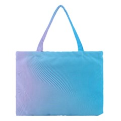 Background Graphics Lines Wave Medium Tote Bag