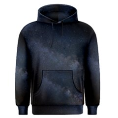 Cosmos Dark Hd Wallpaper Milky Way Men s Pullover Hoodie
