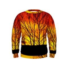 Sunset Abendstimmung Kids  Sweatshirt