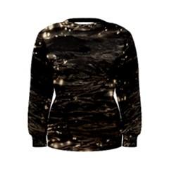 Lake Water Wave Mirroring Texture Women s Sweatshirt