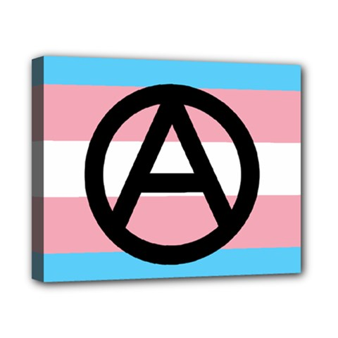 Anarchist Pride Canvas 10  x 8