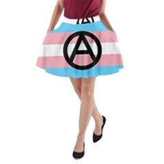 Anarchist Pride A-Line Pocket Skirt
