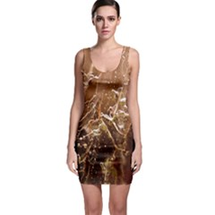 Ice Iced Structure Frozen Frost Sleeveless Bodycon Dress
