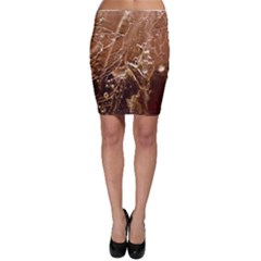 Ice Iced Structure Frozen Frost Bodycon Skirt
