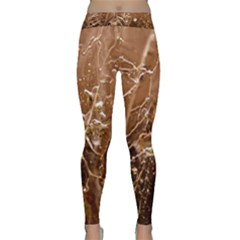 Ice Iced Structure Frozen Frost Classic Yoga Leggings
